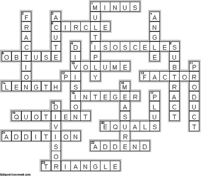 Made By Eclipse Crossword